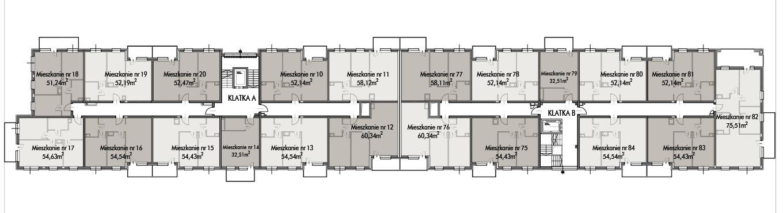 Budynek B -  - Piętro 1