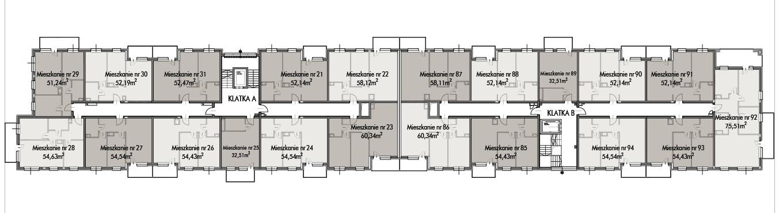 Budynek B -  - Piętro 2