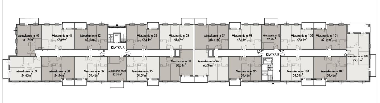 Budynek B -  - Piętro 3