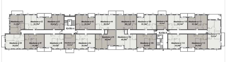 Budynek B -  - Piętro 4