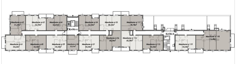 Budynek B -  - Piętro 5