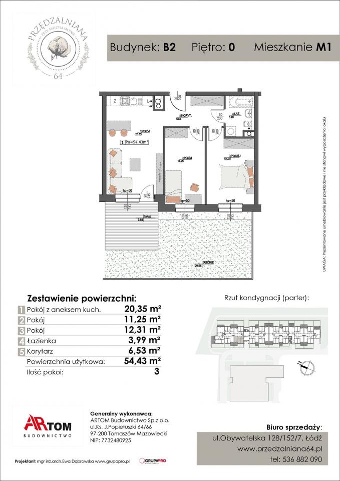Apartament nr. M1