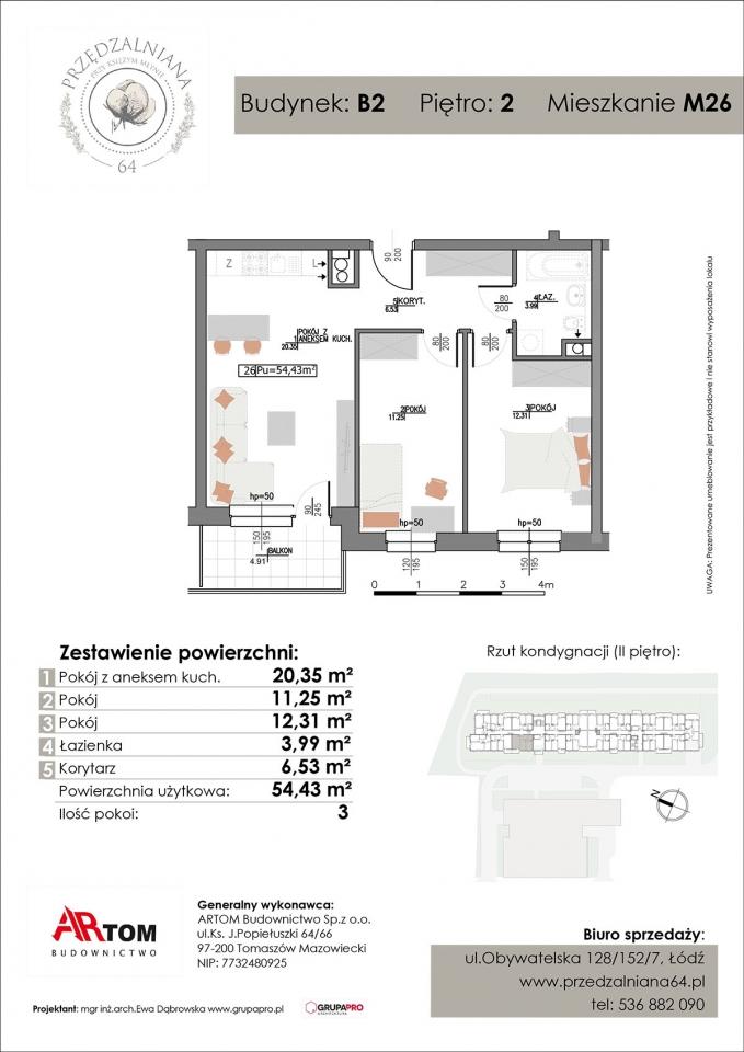 Apartament nr. M26