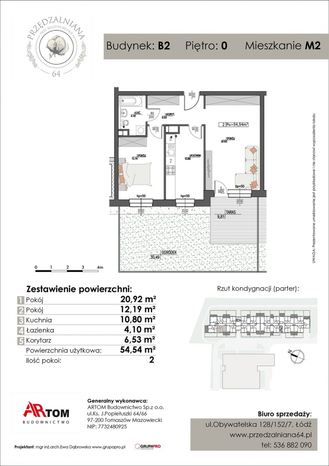 Apartament nr. M2