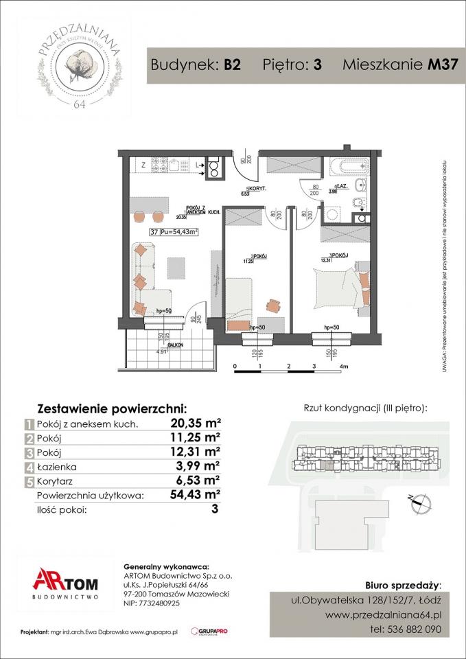 Apartament nr. M37