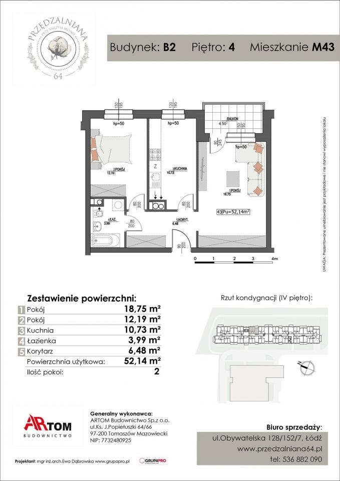 Apartament nr. M43