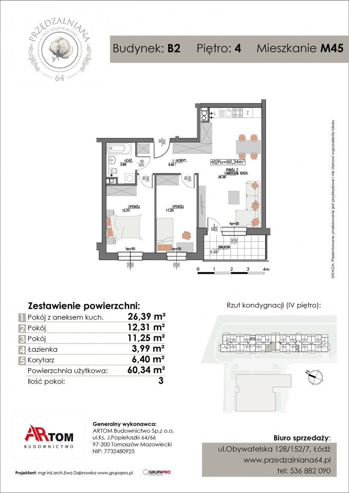 Apartament nr. M45