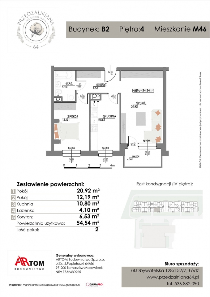 Apartament nr. M46