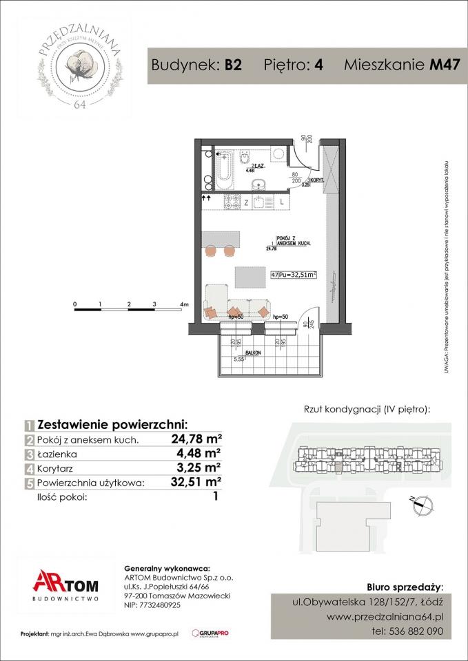 Apartament nr. M47