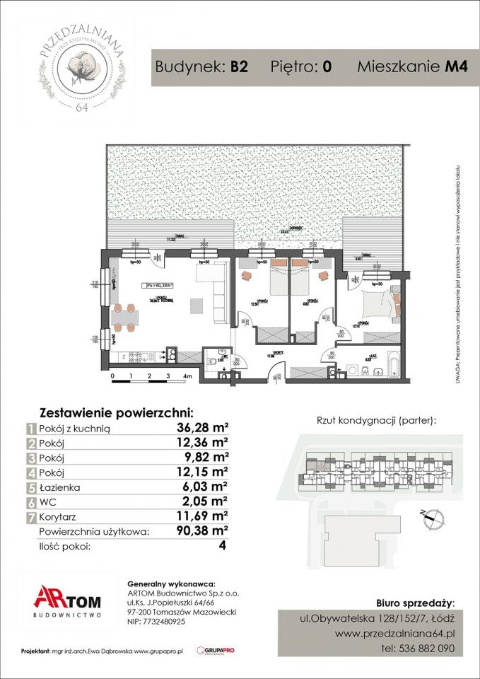 Apartament nr. M4
