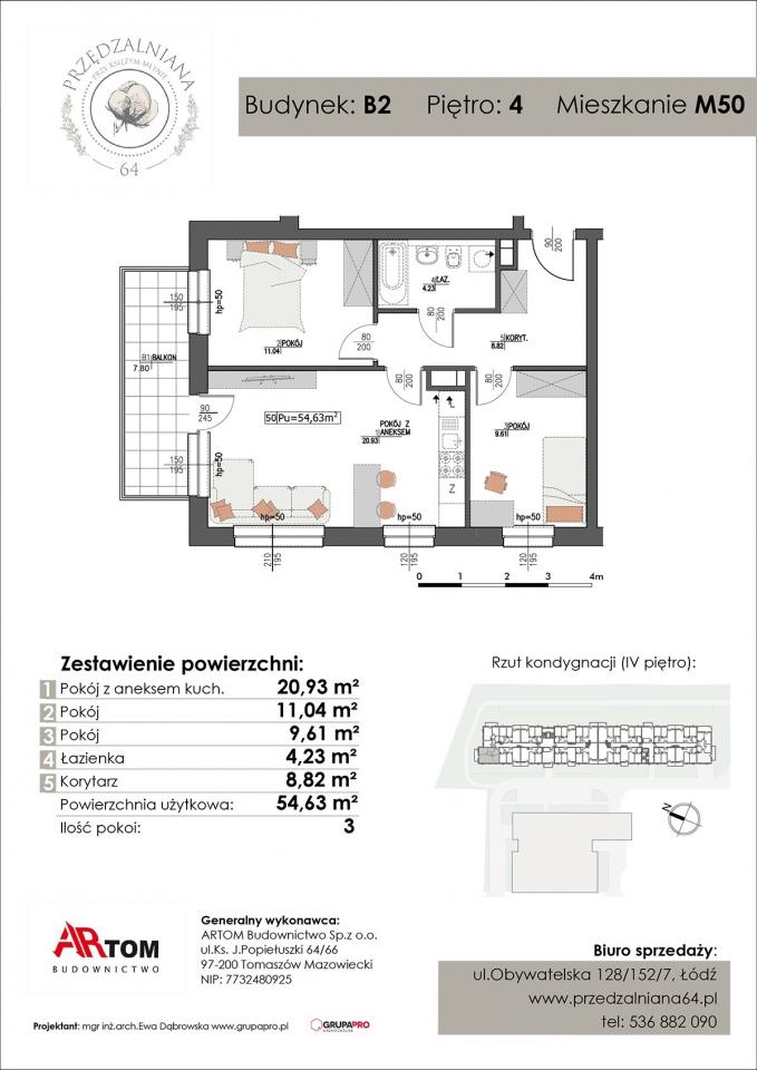 Apartament nr. M50