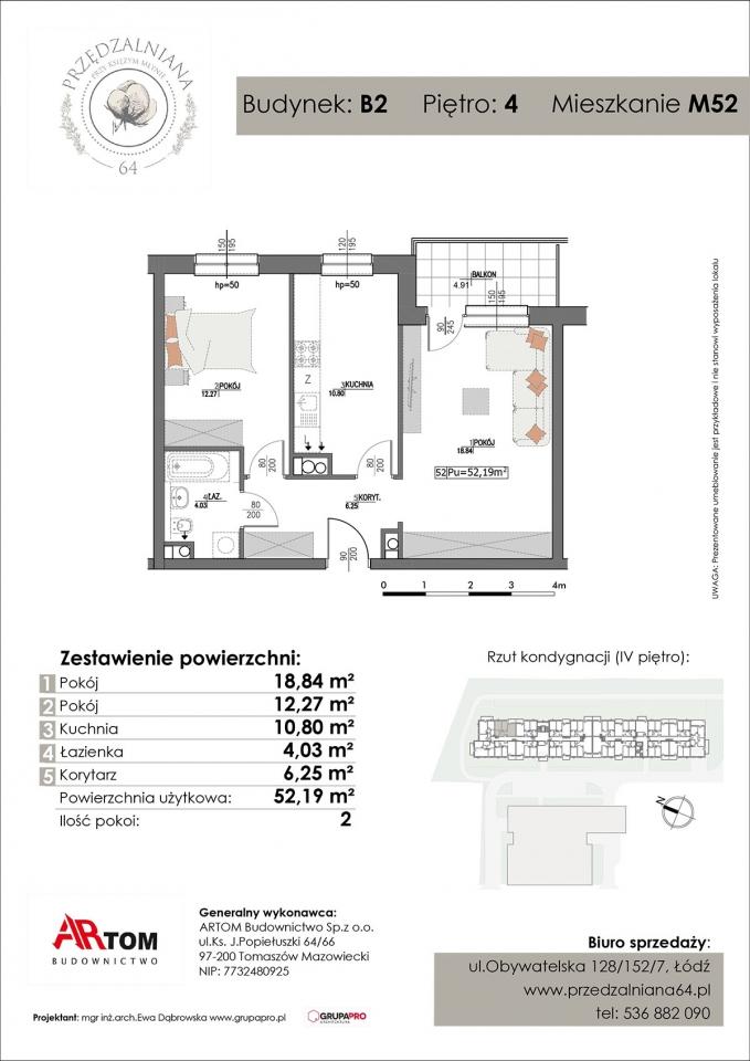 Apartament nr. M52