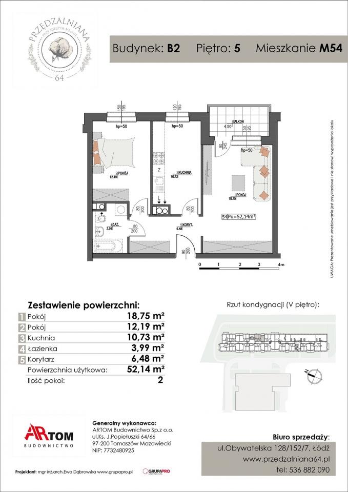 Mieszkanie M54