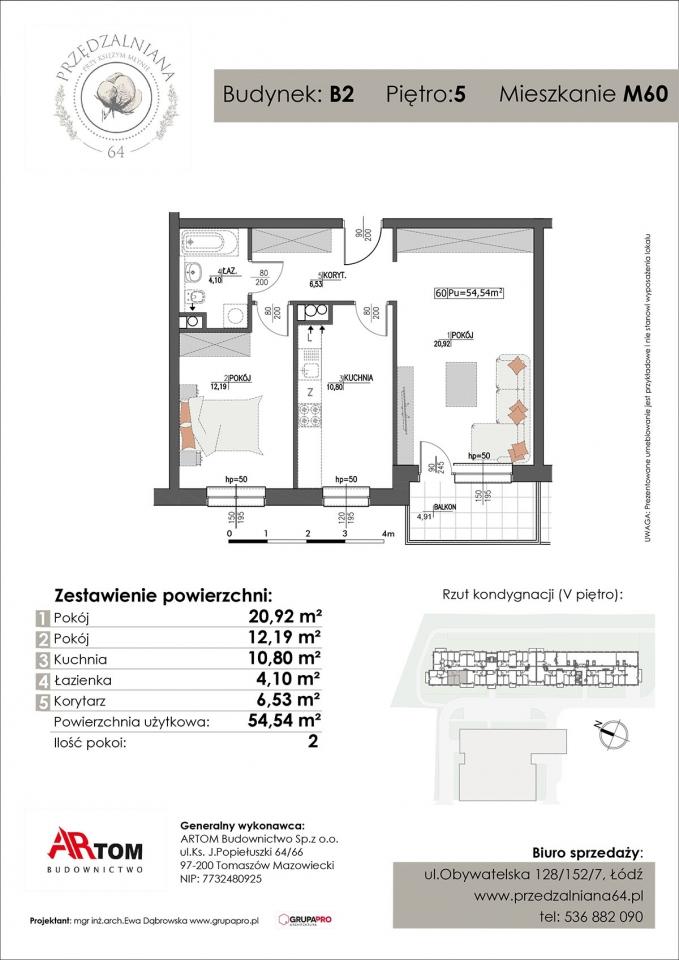 Mieszkanie M60