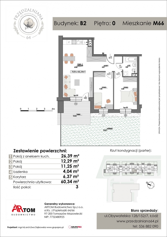 Apartament nr. M66