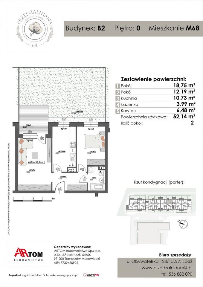 Apartament nr. M68