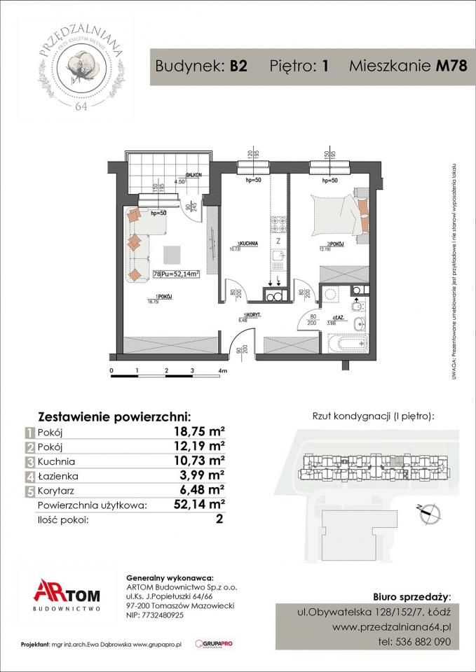 Apartament nr. M78