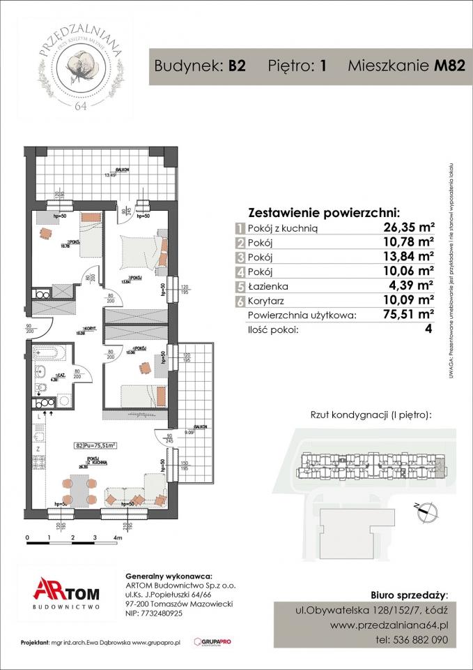 Mieszkanie M82