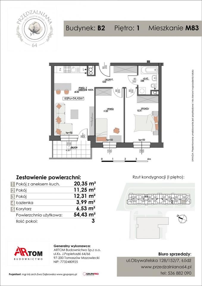 Apartament nr. M83