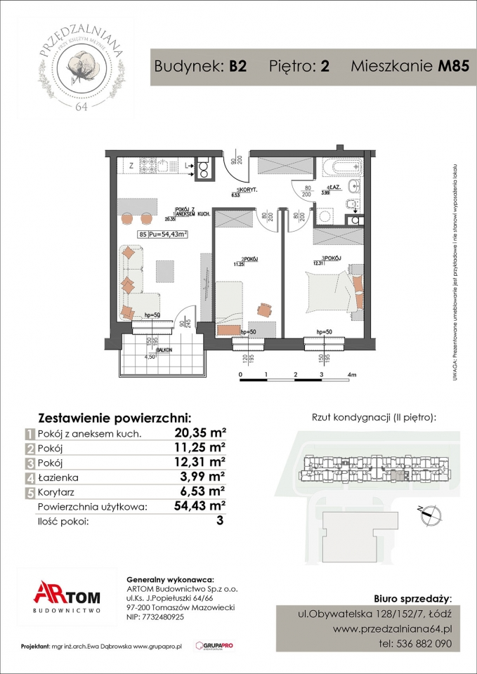 Mieszkanie M85