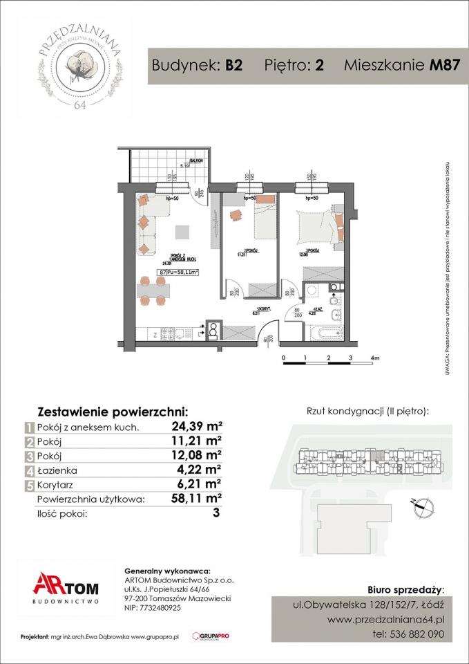 Mieszkanie M87