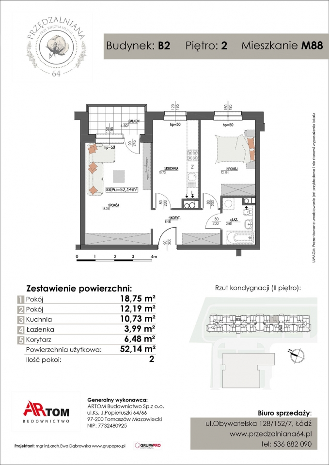 Apartament nr. M88