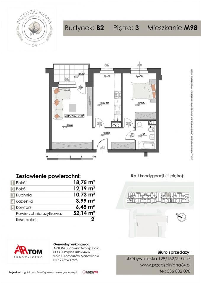 Apartament nr. M98
