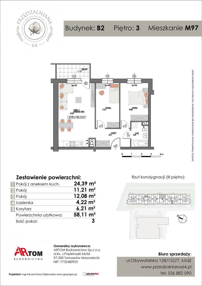 Mieszkanie M97