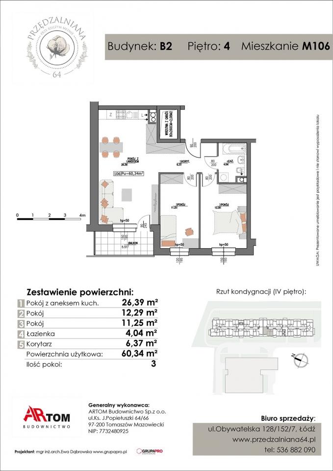 Apartament nr. M106
