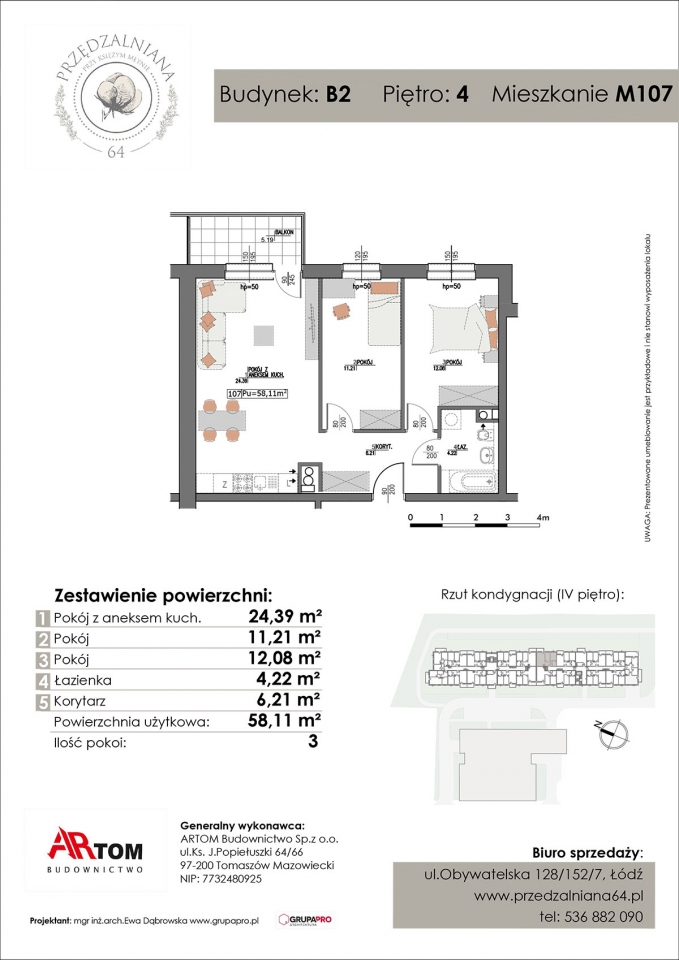 Apartament nr. M107