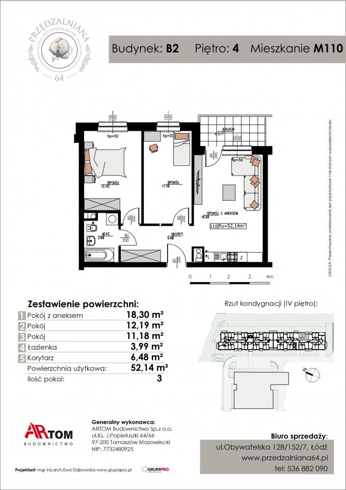 Apartament nr. M110
