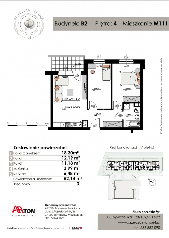 Apartament nr. M111