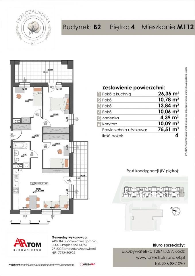 Apartament nr. M112