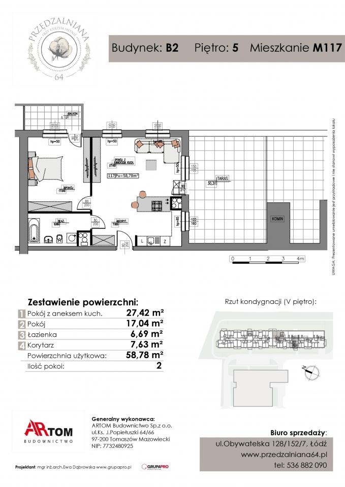 Apartament nr. M117