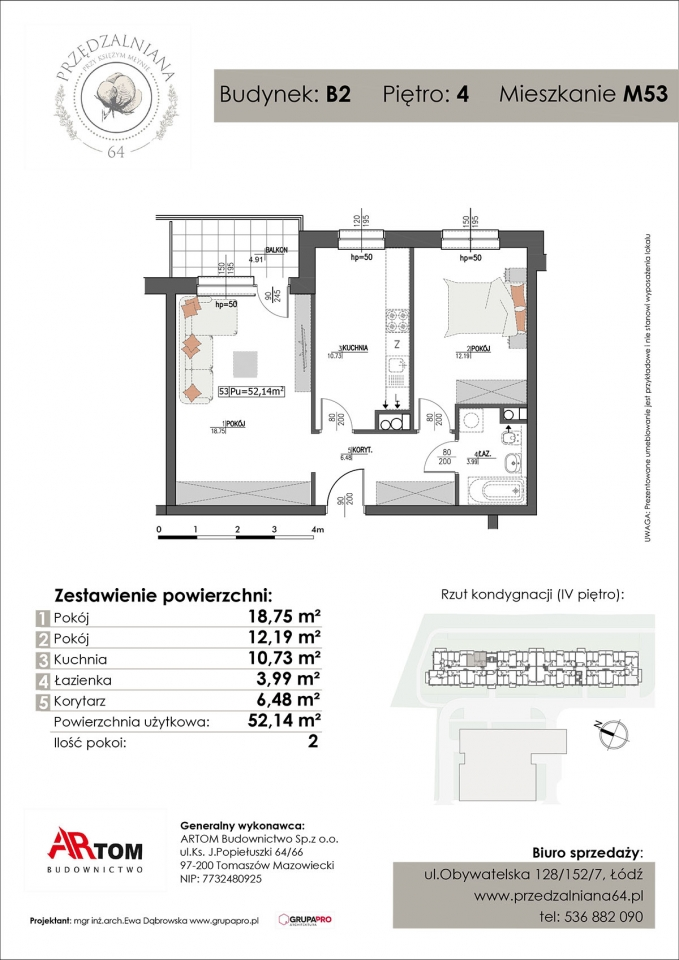 Apartament nr. M53