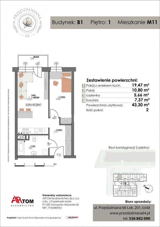 Apartament nr. M11