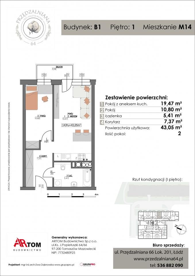 Mieszkanie M14