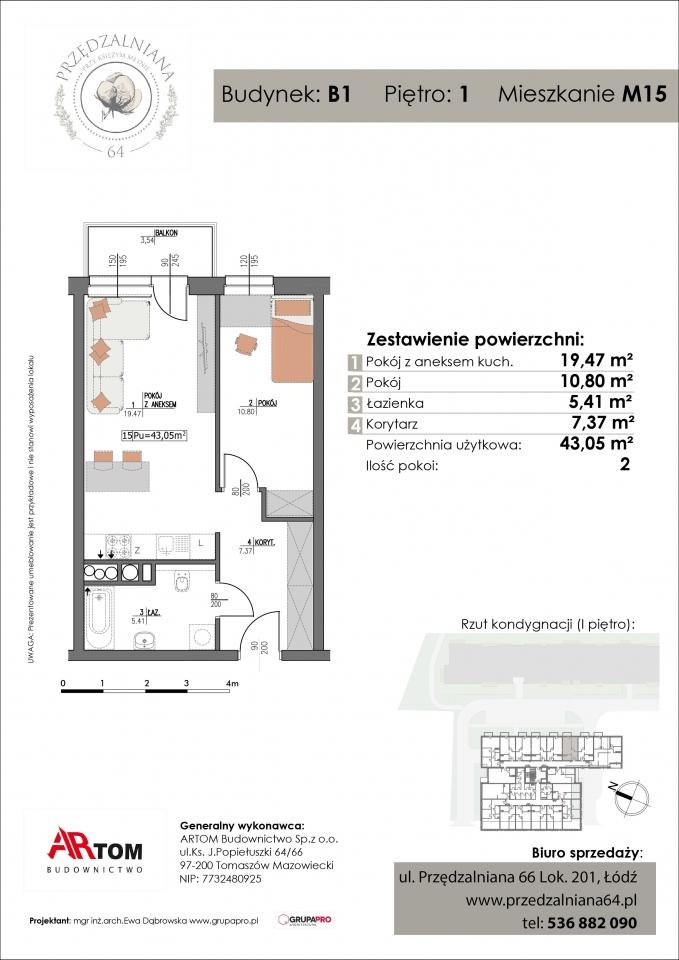 Mieszkanie M15