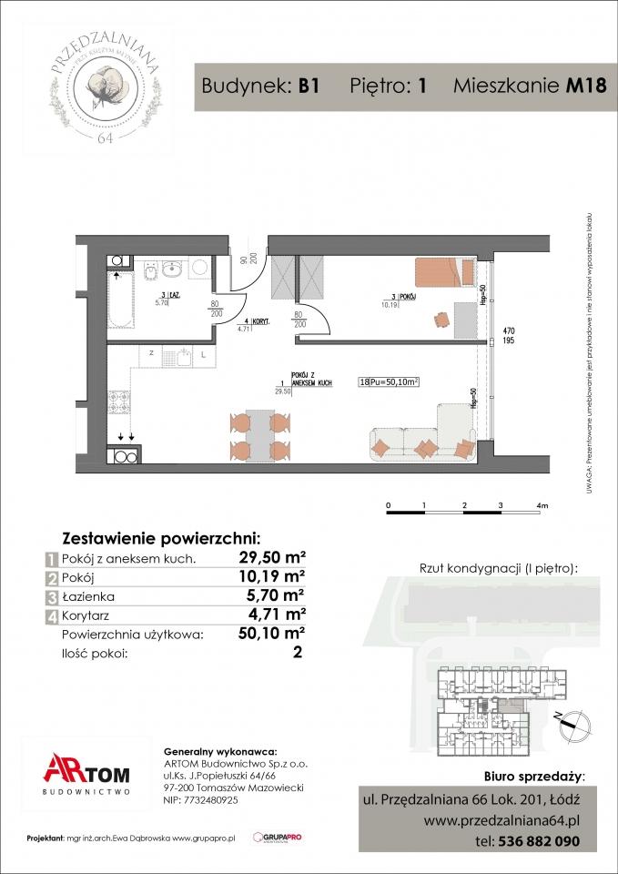 Mieszkanie M18