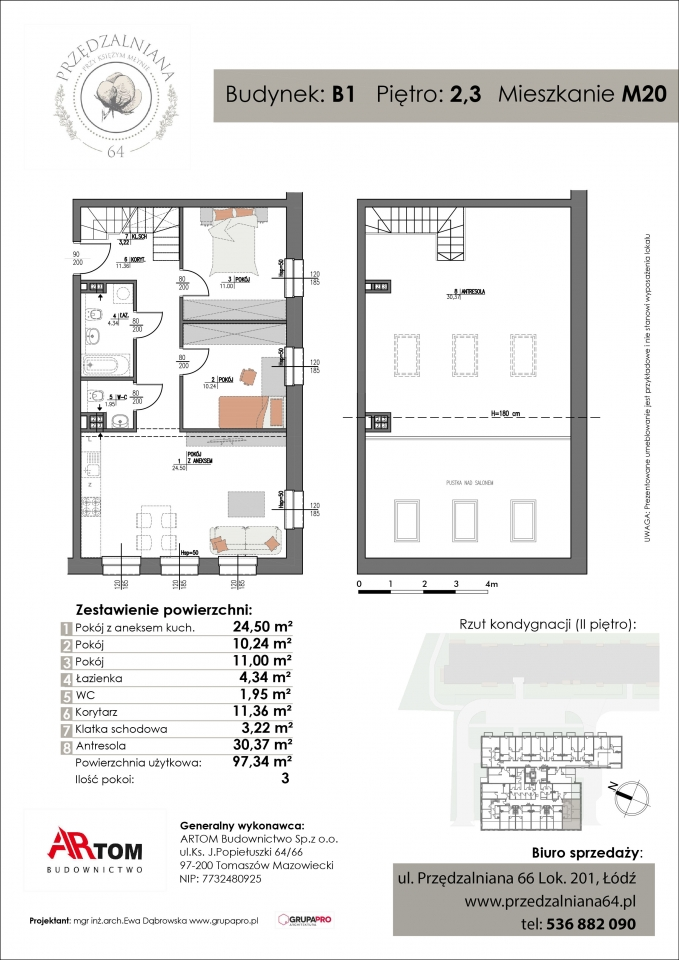 Apartament nr. M20