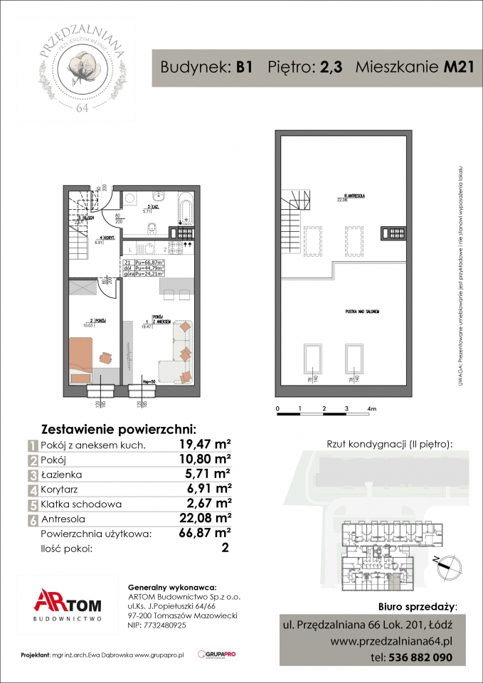 Apartament nr. M21