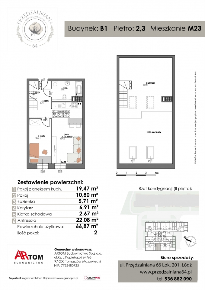Apartament nr. M23