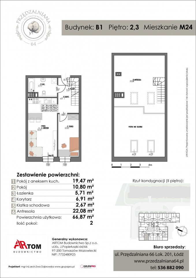 Apartament nr. M24