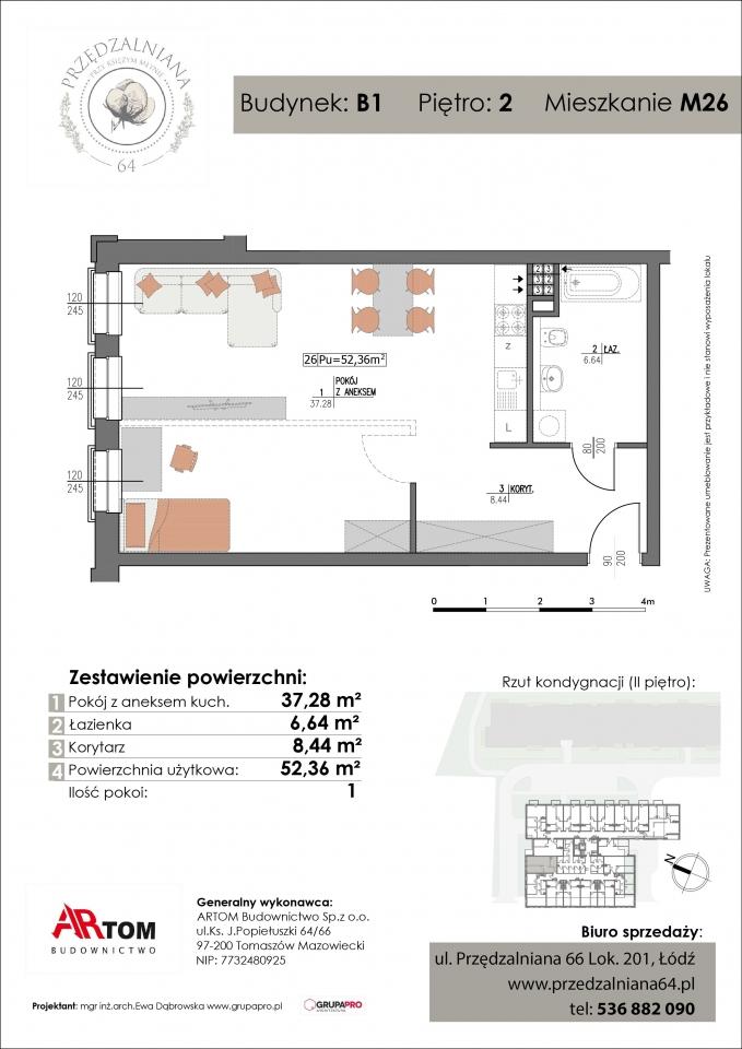 Mieszkanie M26