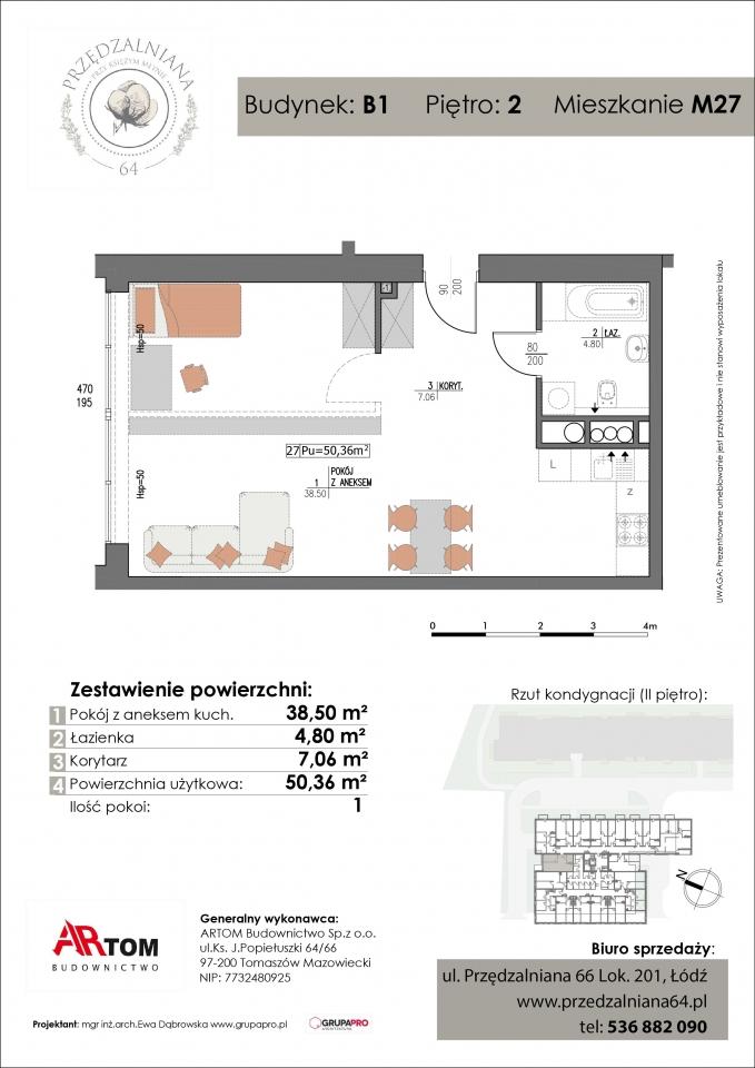 Apartament nr. M27