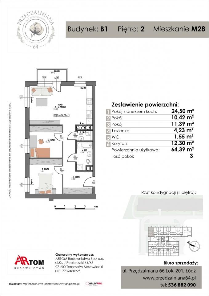 Apartament nr. M28
