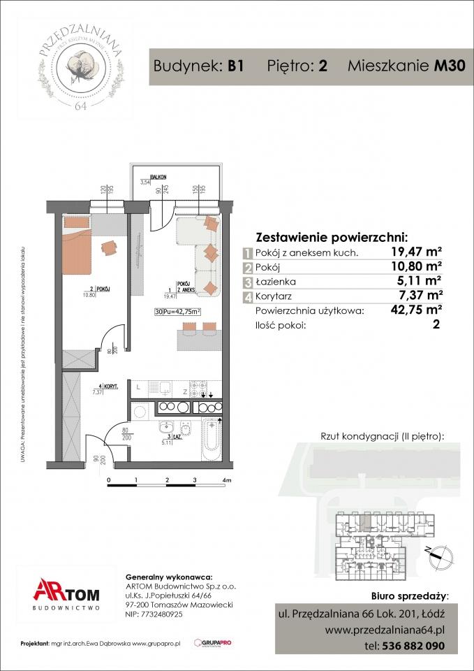 Apartament nr. M30