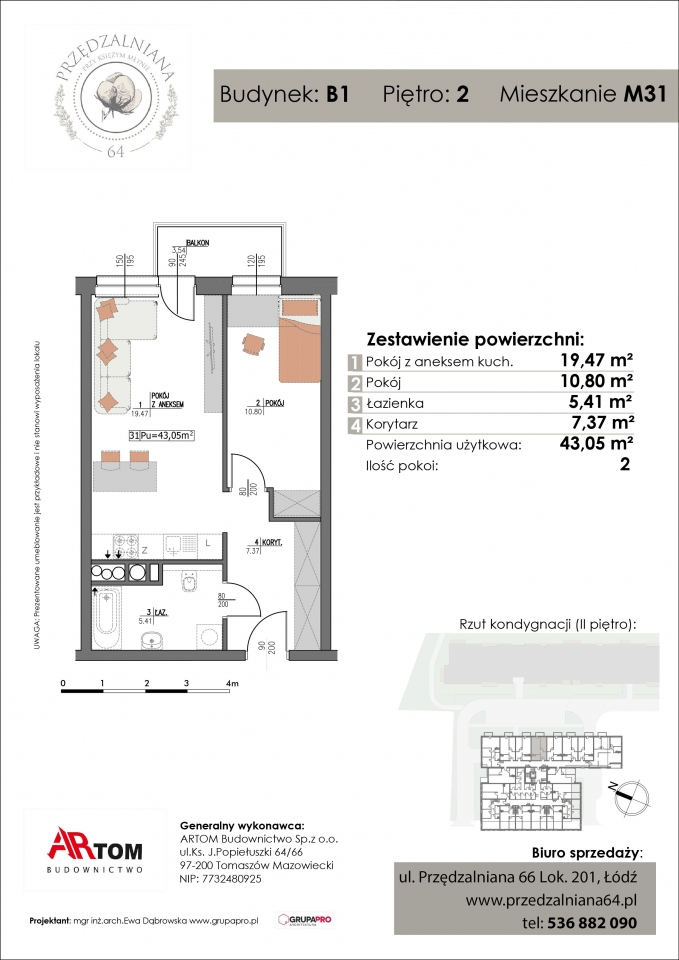 Apartament nr. M31