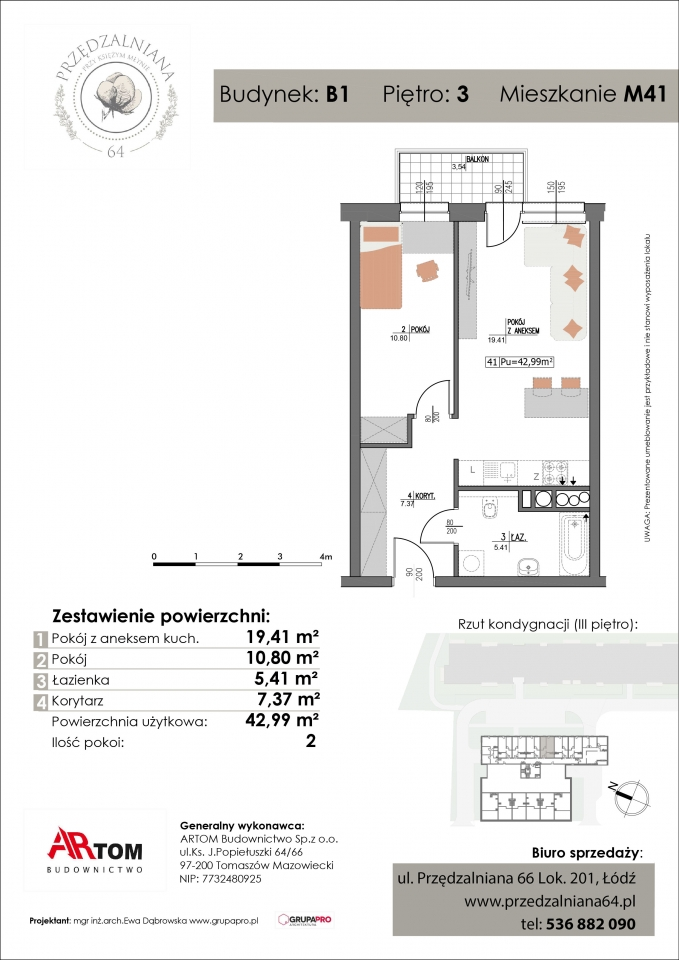 Mieszkanie M41