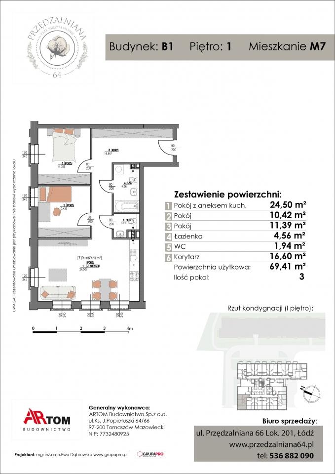 Apartament nr. M7
